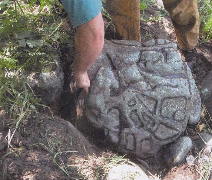 Quileute Tribe celebrates recovery of huge historic rock carving