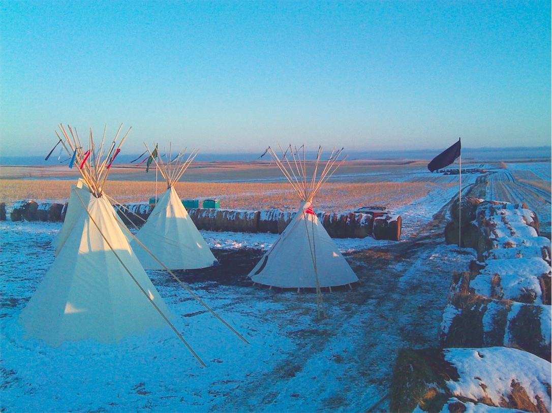 Native Sun News: Bales taken at Rosebud Sioux Tribe spirit camp