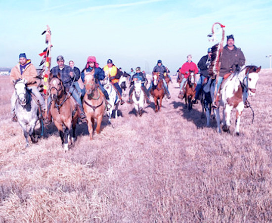 Native Sun News: Youth take on lead role in Dakota memorial ride