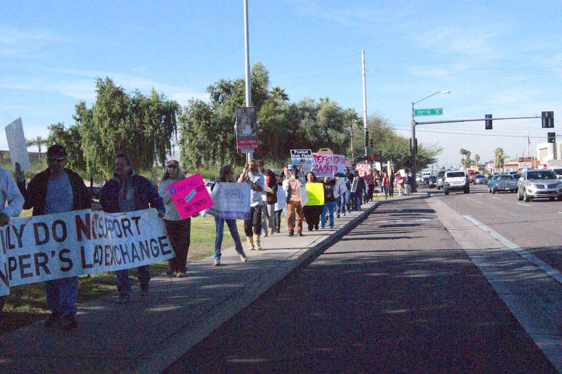 San Carlos Apache Tribe to hold spiritual march to sacred site