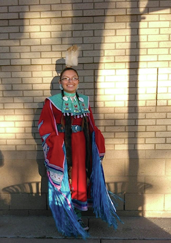 Native Sun News: Cheyenne River Sioux teen serves as role model