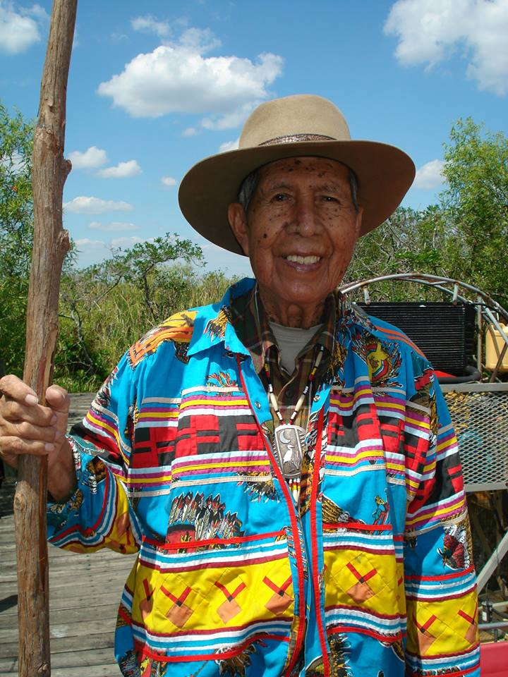 Former Miccosukee Tribe chairman Buffalo Tiger passes on at 94