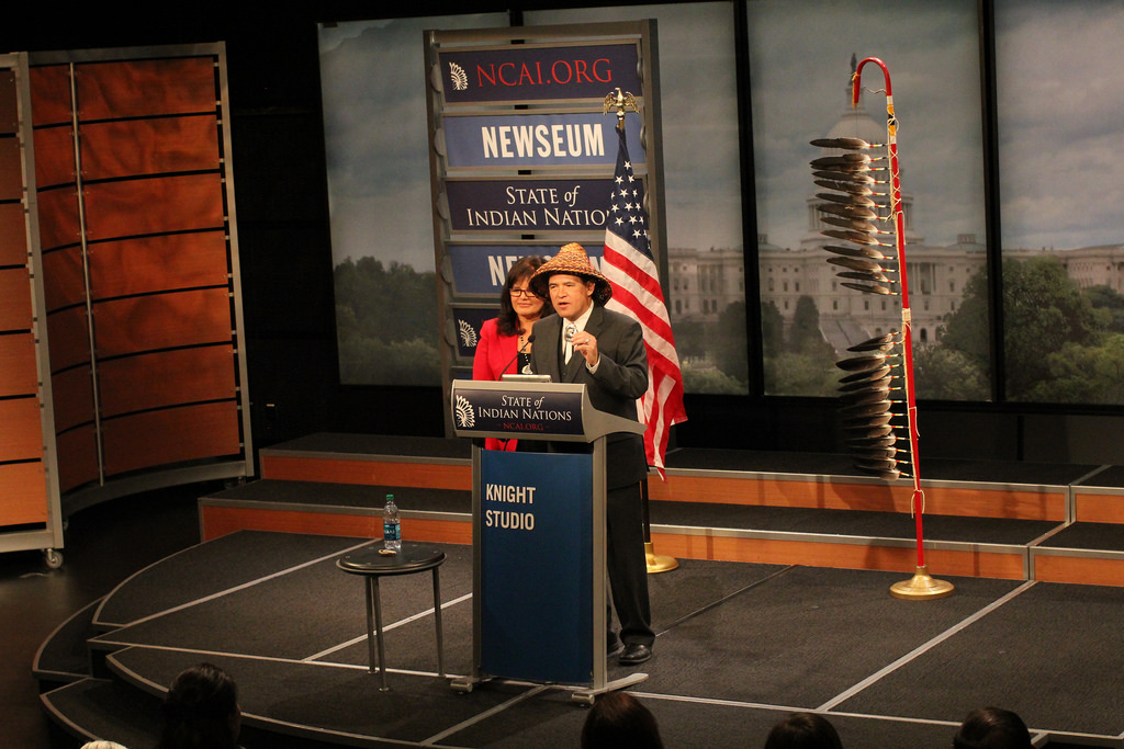 NCAI president to deliver State of Indian Nations on January 22