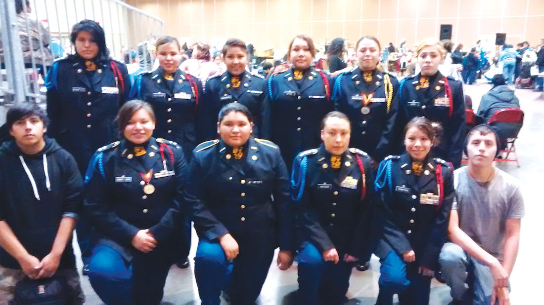 Native Sun News: Pine Ridge youth participate in Junior ROTC
