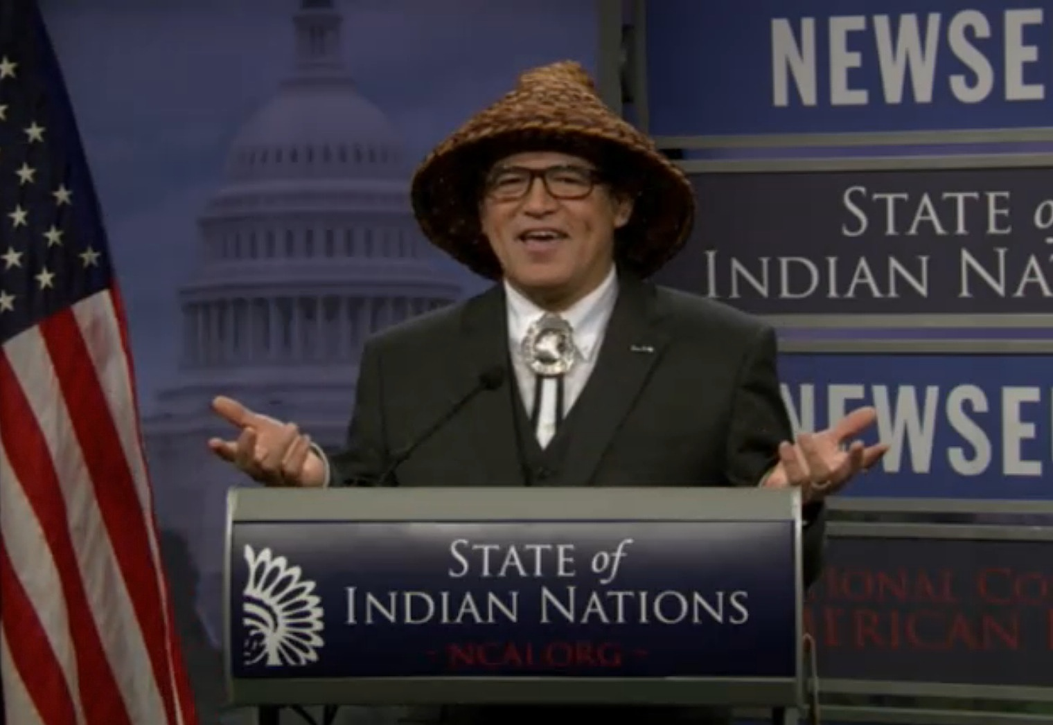 State of Indian Nations as delivered by NCAI President Cladoosby