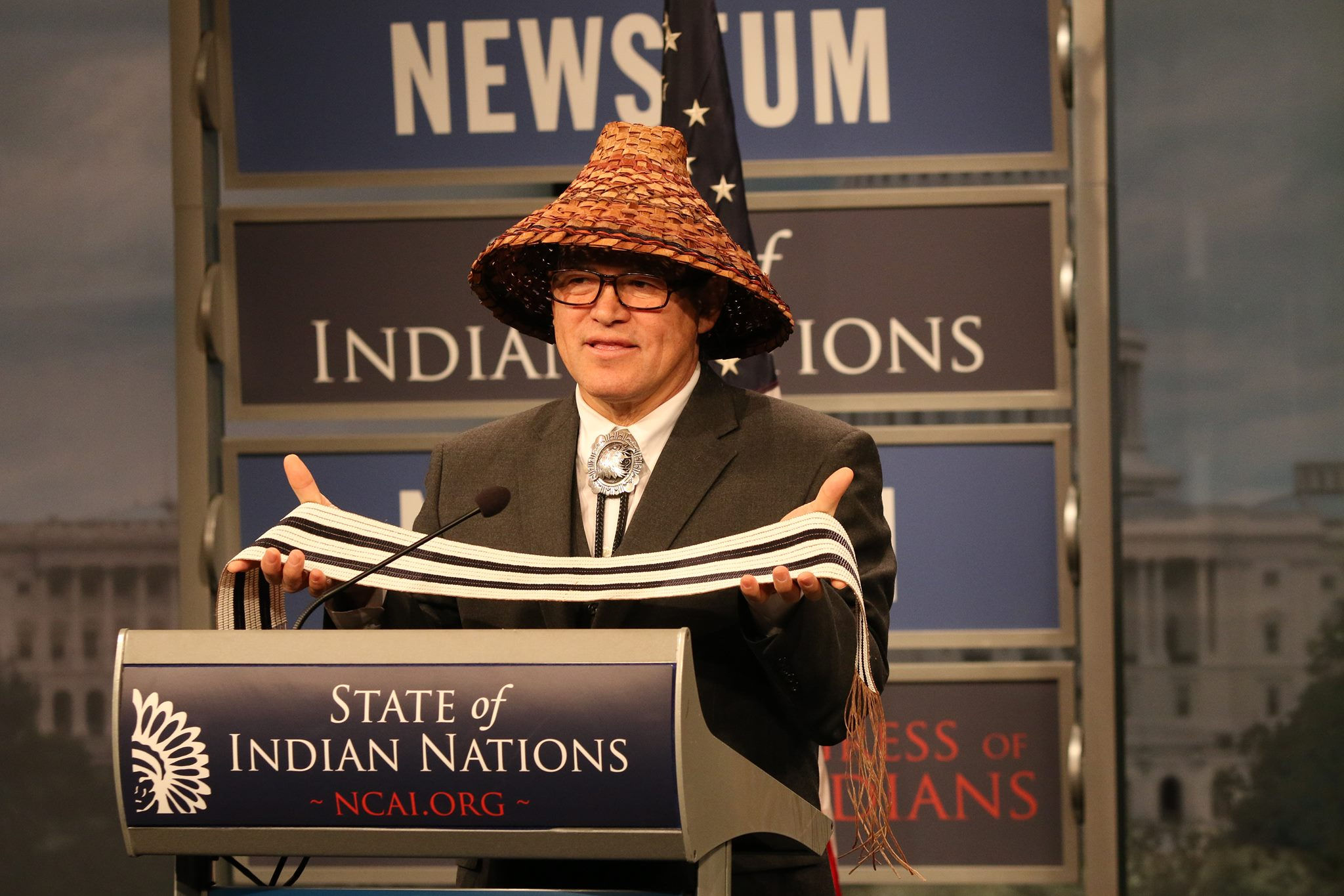 Brian Cladoosby announces bid for re-election as NCAI president