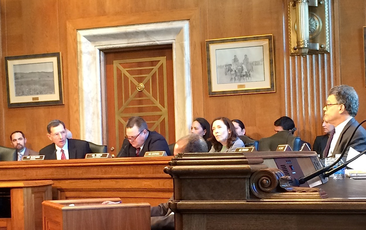 Senate Indian Affairs Committee holds first meeting and hearing