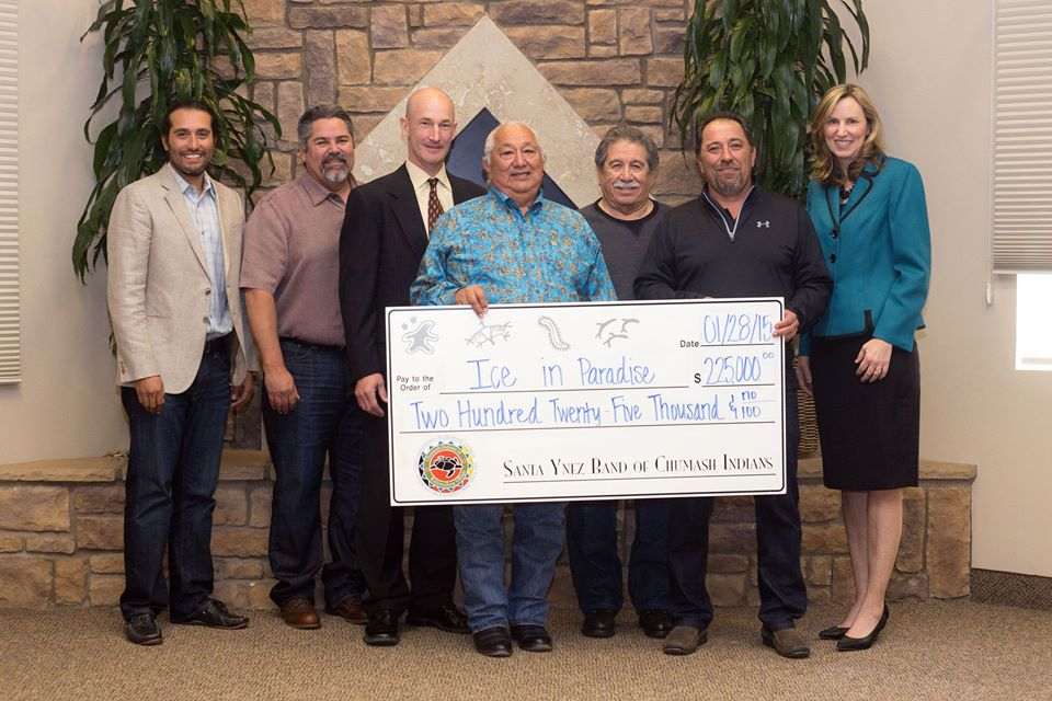Chumash Tribe contributes $225K toward new ice skate arena