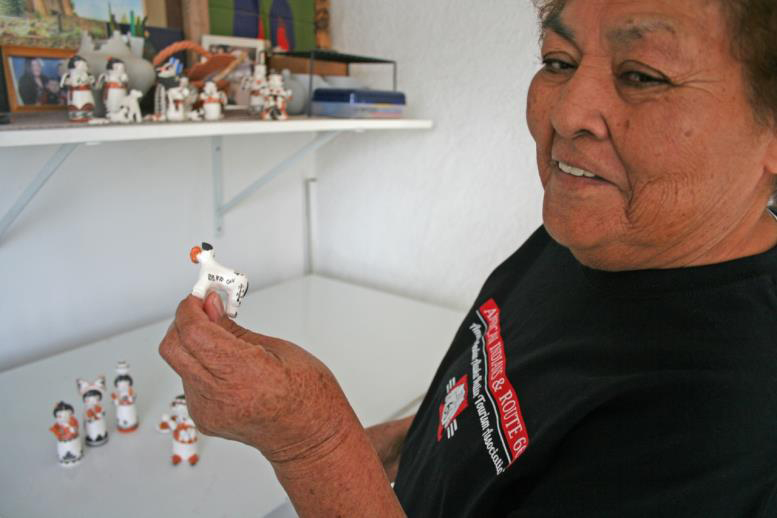 AIANTA: Acoma Pueblo potter Mary Lowden shares life stories
