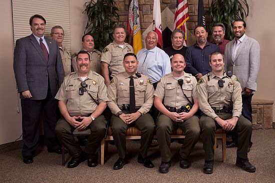 Chumash Tribe welcomes county sheriff deputies to reservation
