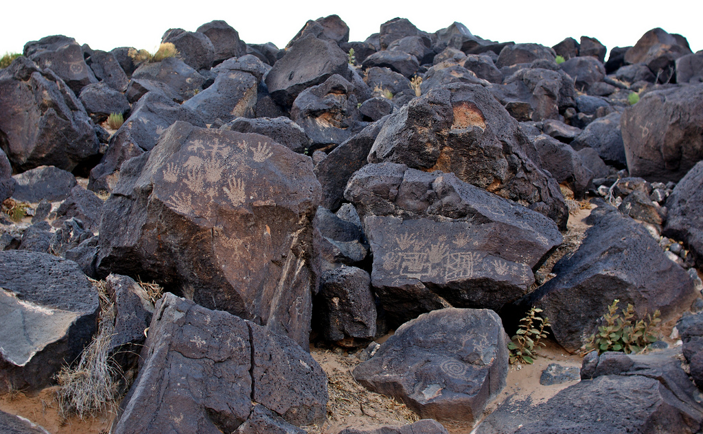 Petroglyph National Monument marred by trash and vandalism