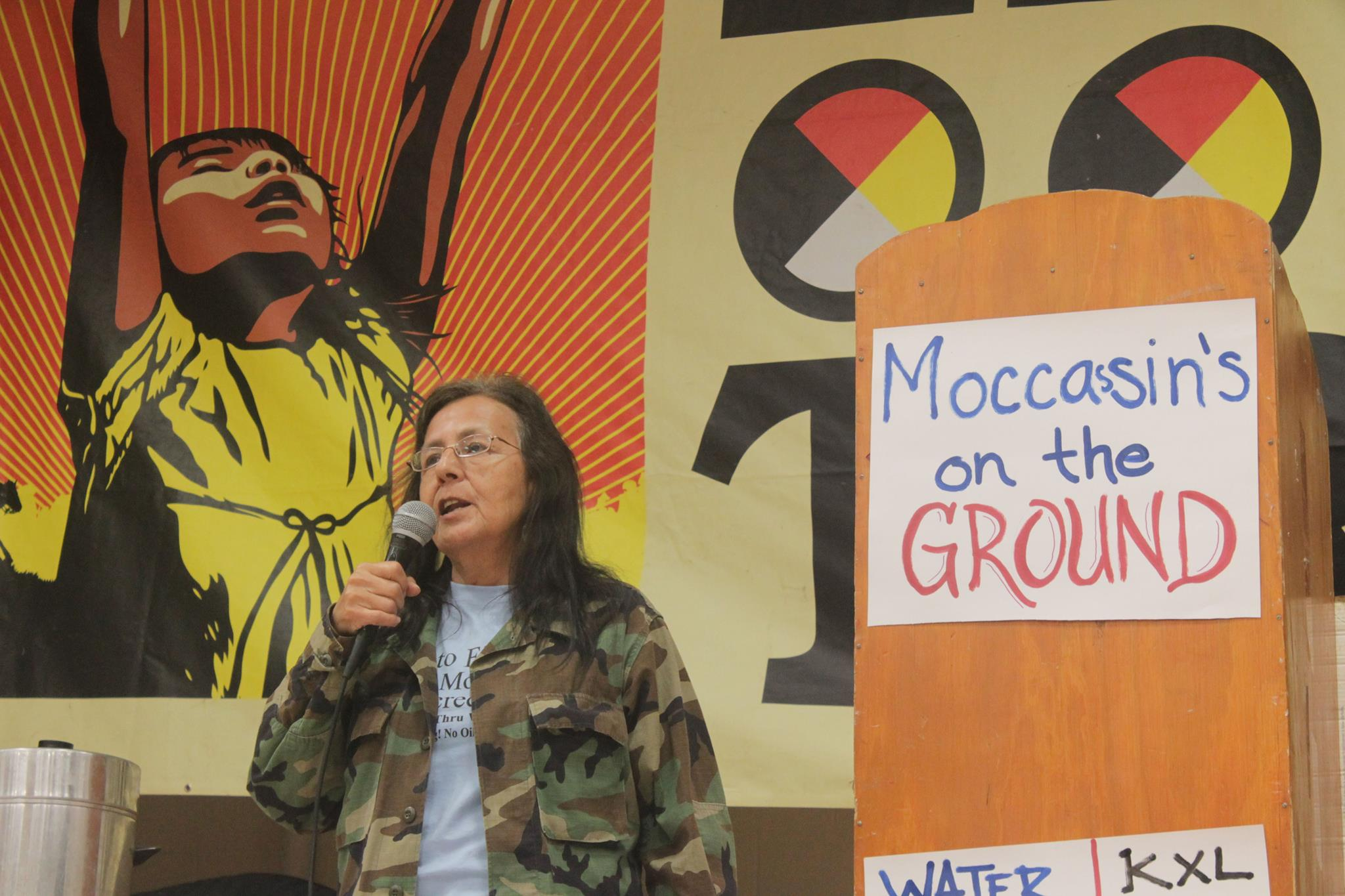 Native Sun News: 'Moccasins on the Ground' against Keystone