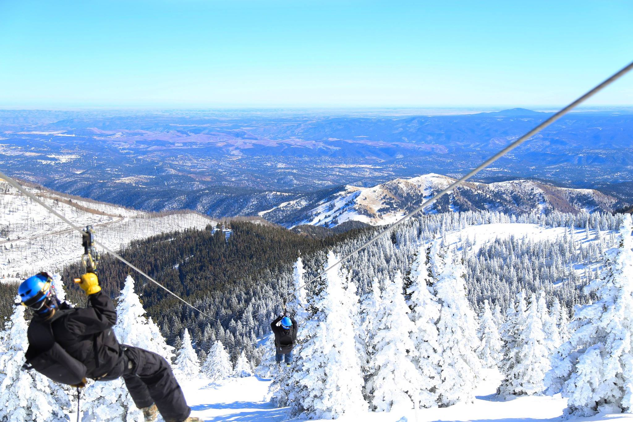 Mescalero Apache Nation holds grand opening for first zip line