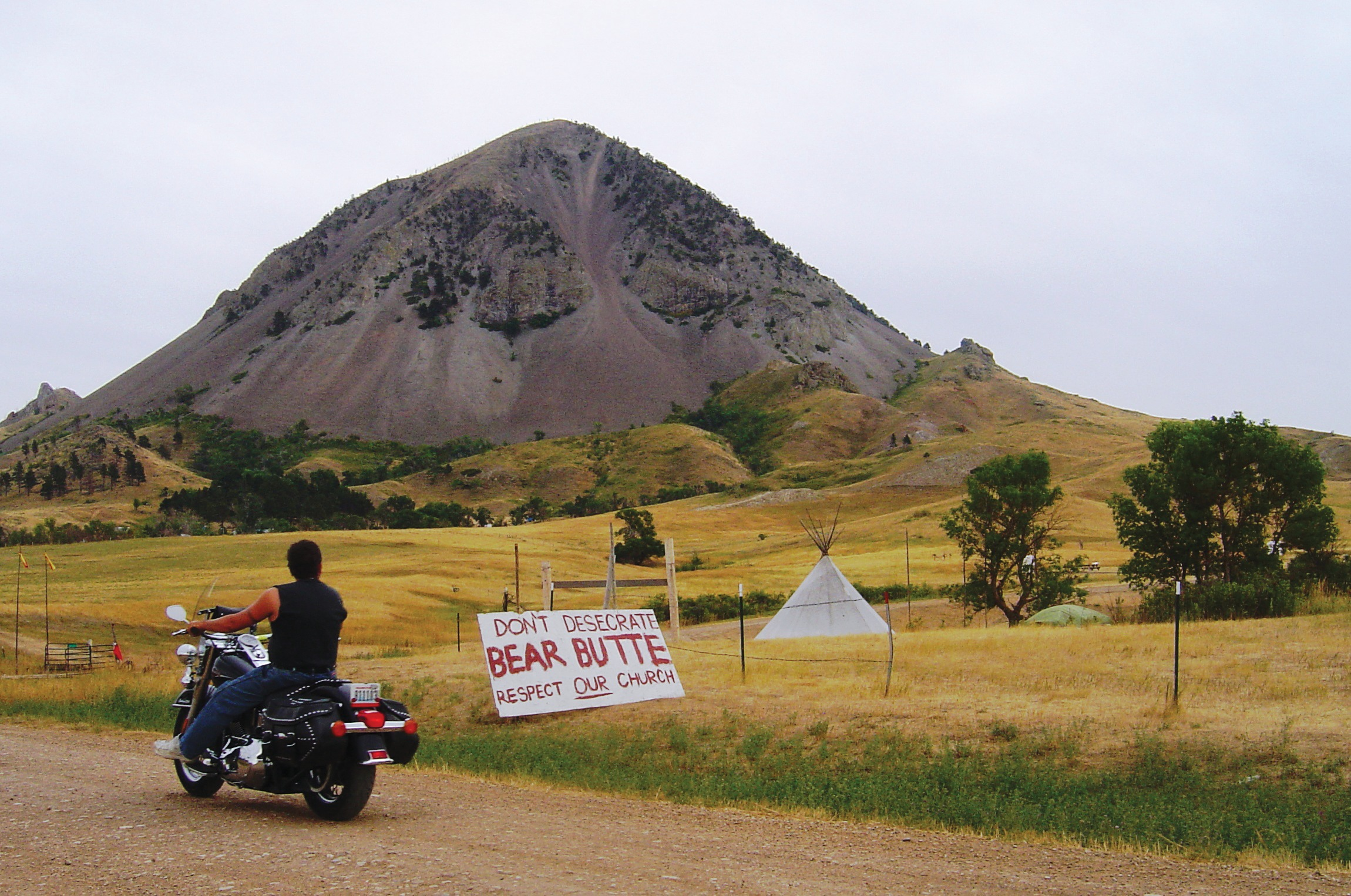 Native Sun News: Tribes told of potential burials near Bear Butte