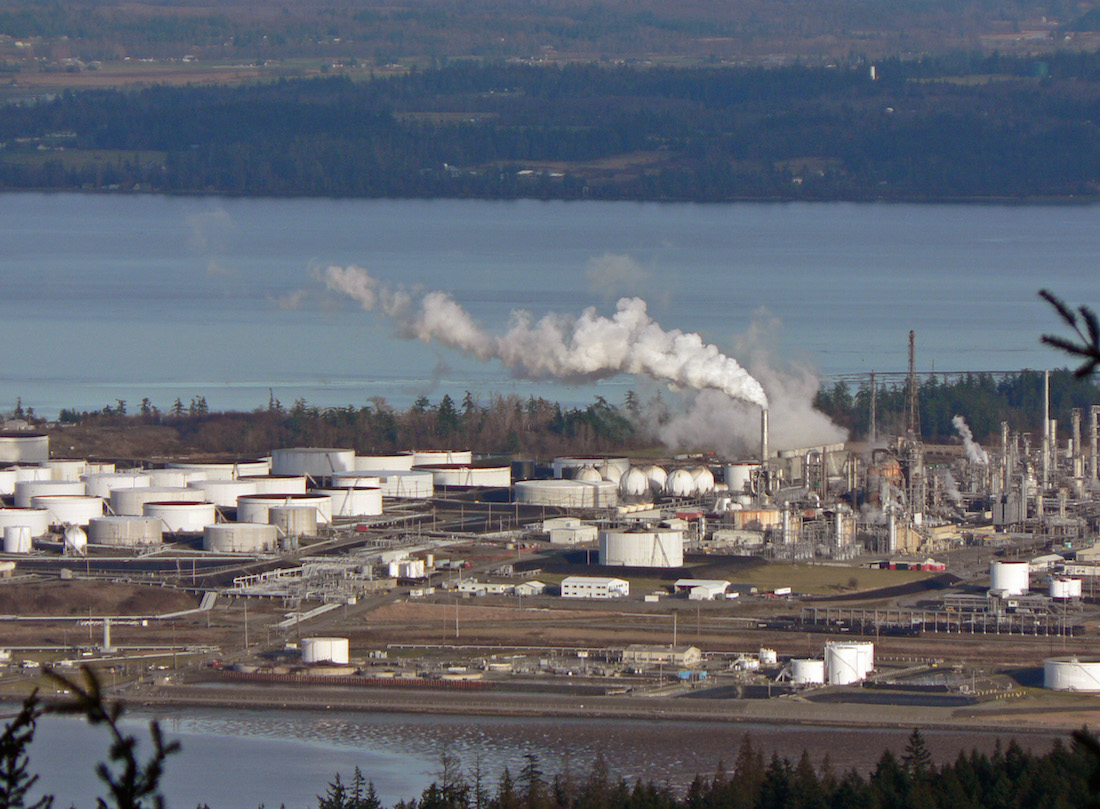 EPA investigates refinery incident at request of Swinomish Tribe