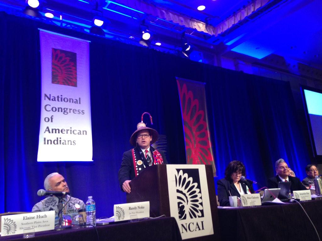 Updates from National Congress of American Indians winter session in DC
