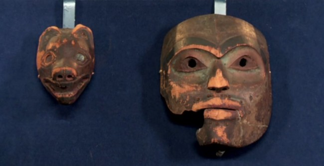 Mary Pember: Tlingit masks appraised on 'Antiques Roadshow'