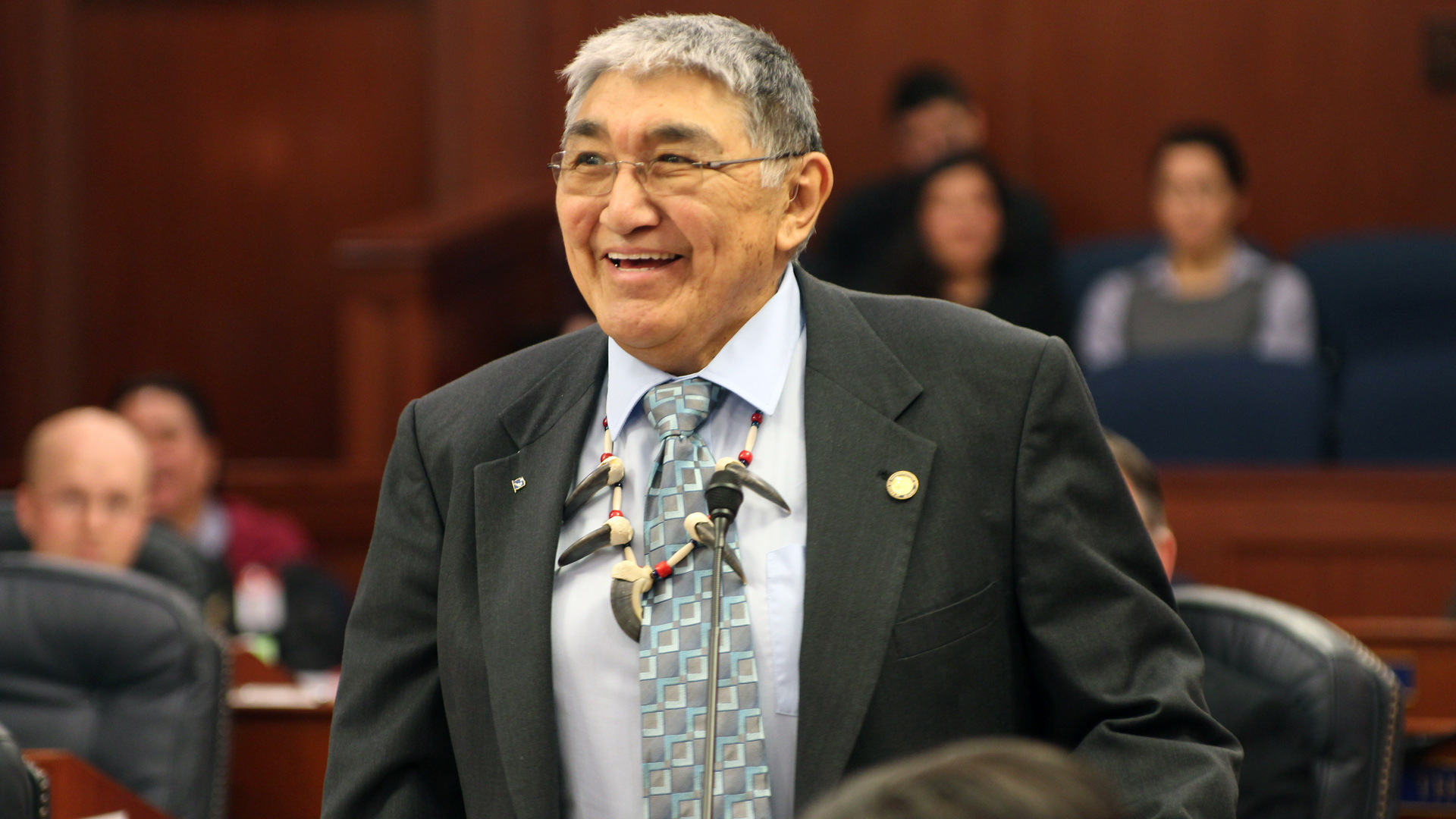 Alaska Native lawmaker in hospital after emergency at capitol