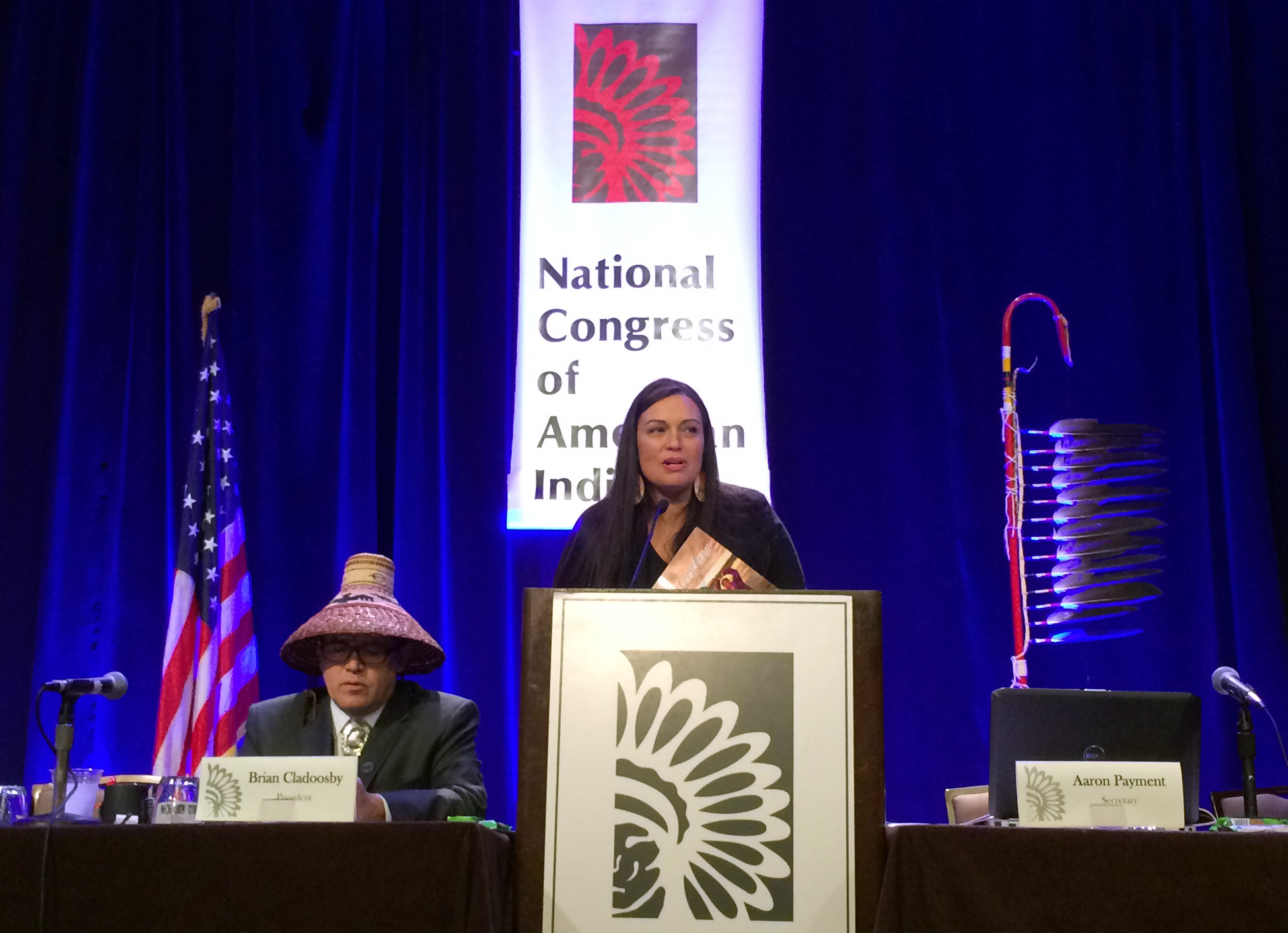 Democrats embrace tribal sovereignty in platform for convention