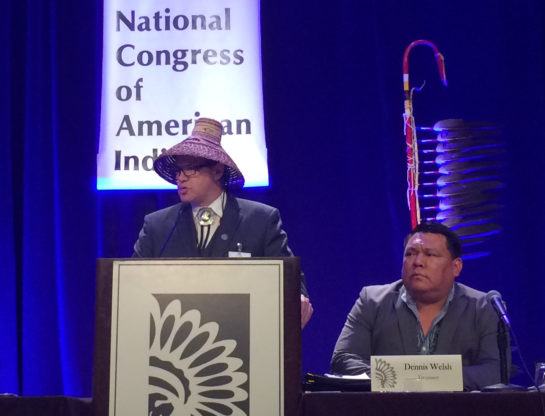 Updates from National Congress of American Indians DC meeting