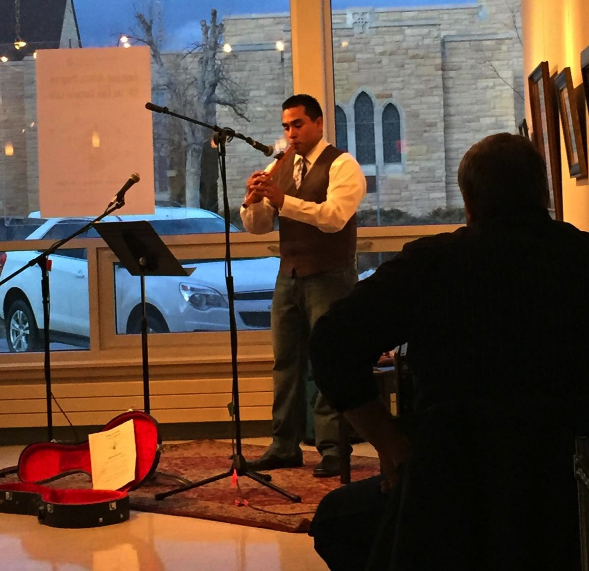Native News News: Ojibwe flautist shares message with music