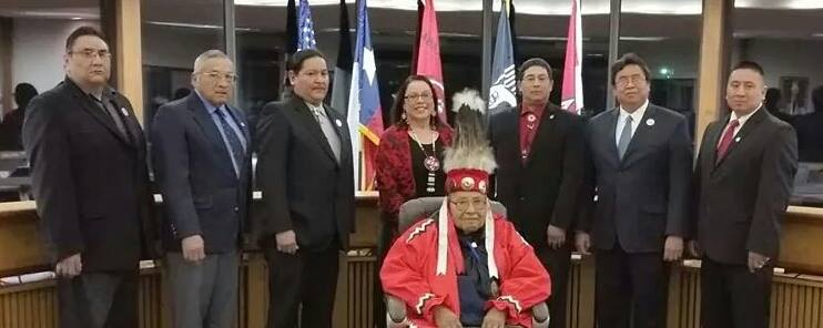 Nita Battise sworn in as new leader of Alabama-Coushatta Tribe