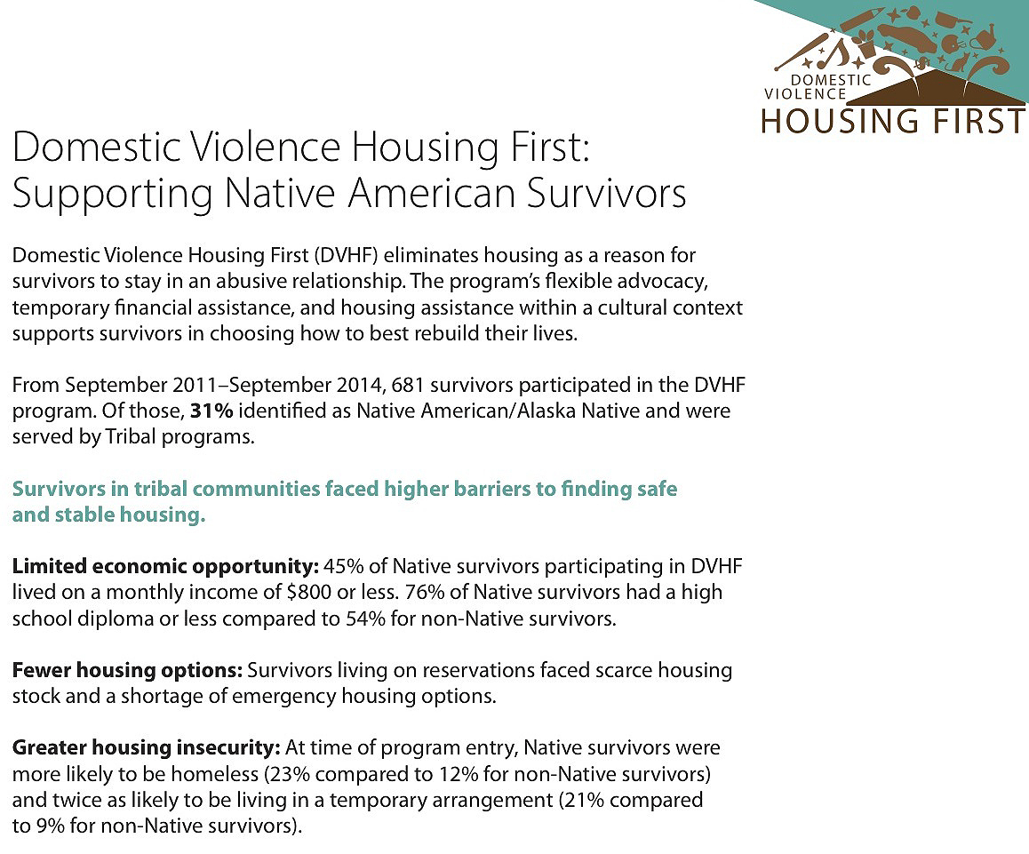 Lynn Armitage: Housing program aids Native violence survivors