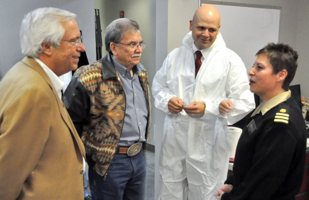 Cherokee Nation nurse returns from Ebola efforts in West Africa