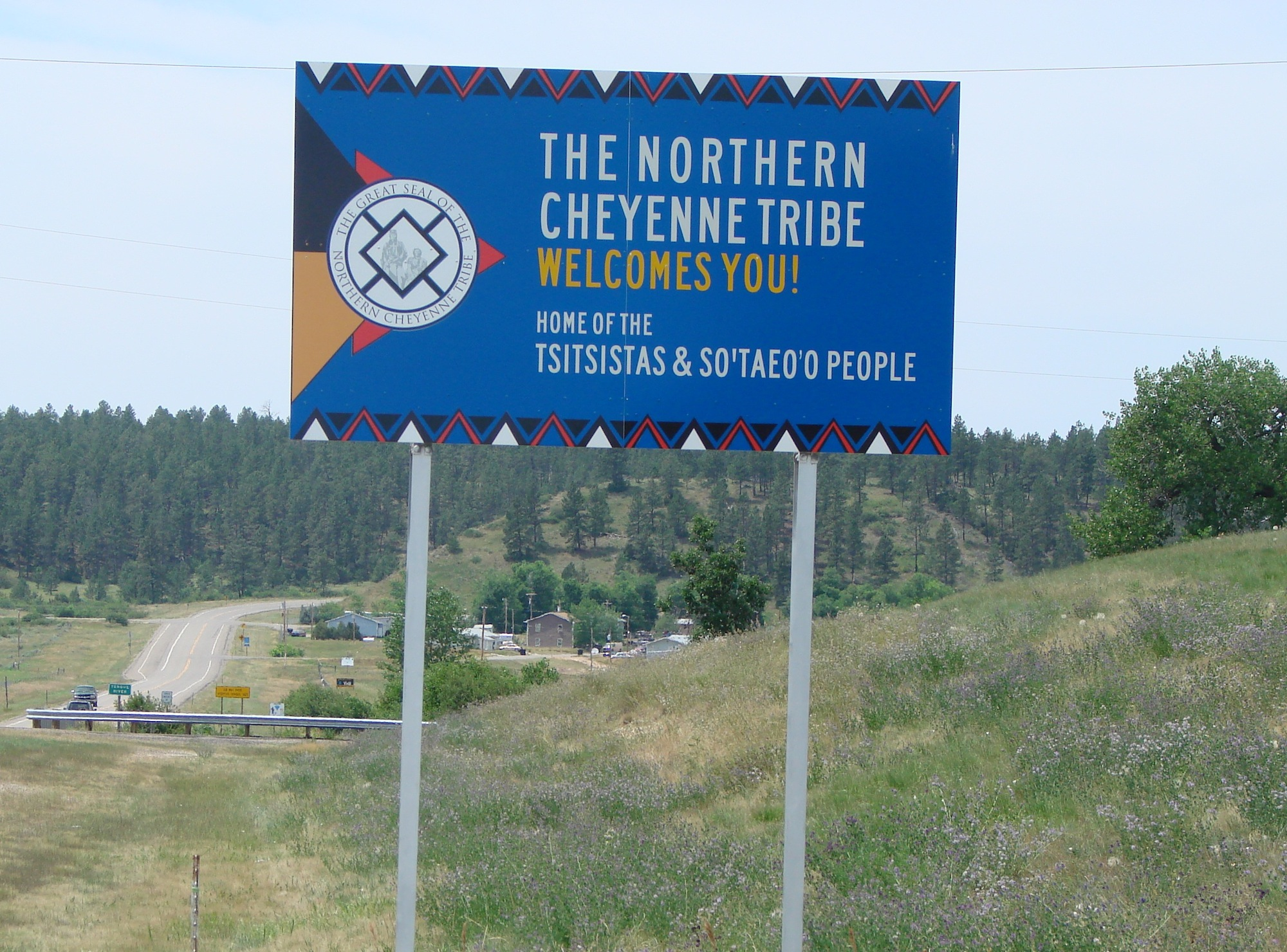 BIA officers take children from Northern Cheyenne Reservation