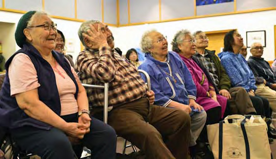 Mary Pember: Alaska Natives bring healing in a traditional way