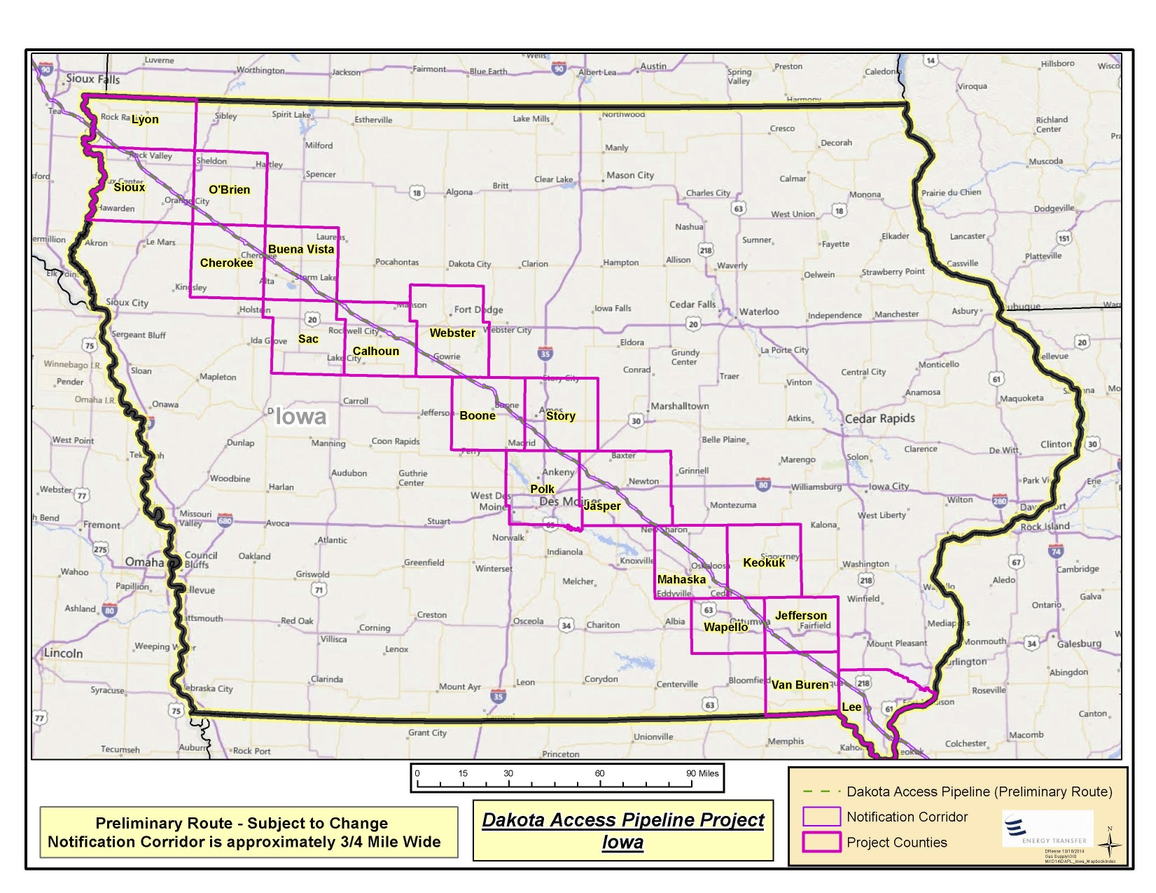 Meskwaki Tribe opposes oil pipeline through aboriginal territory