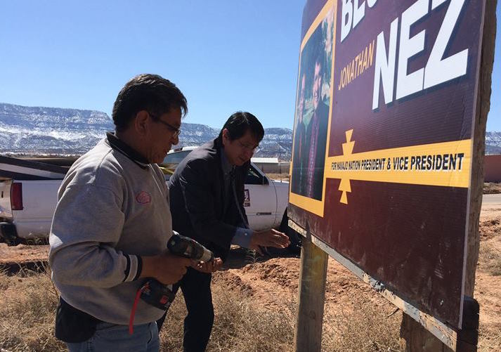 Navajo Nation leaders object to presidential election on April 21
