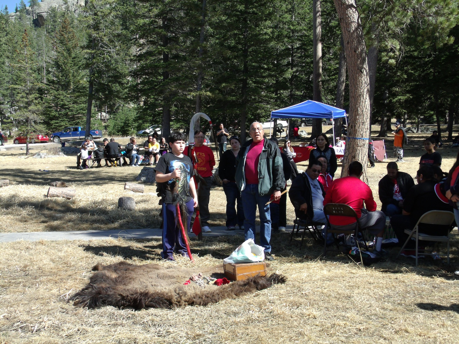 Native Sun News: Ceremony welcomes return of spiritual beings