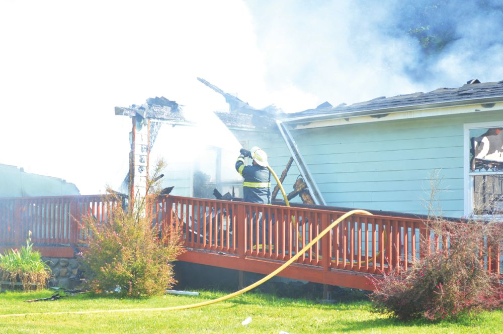 Hoopa Valley Tribe sees setback as fire destroys housing agency