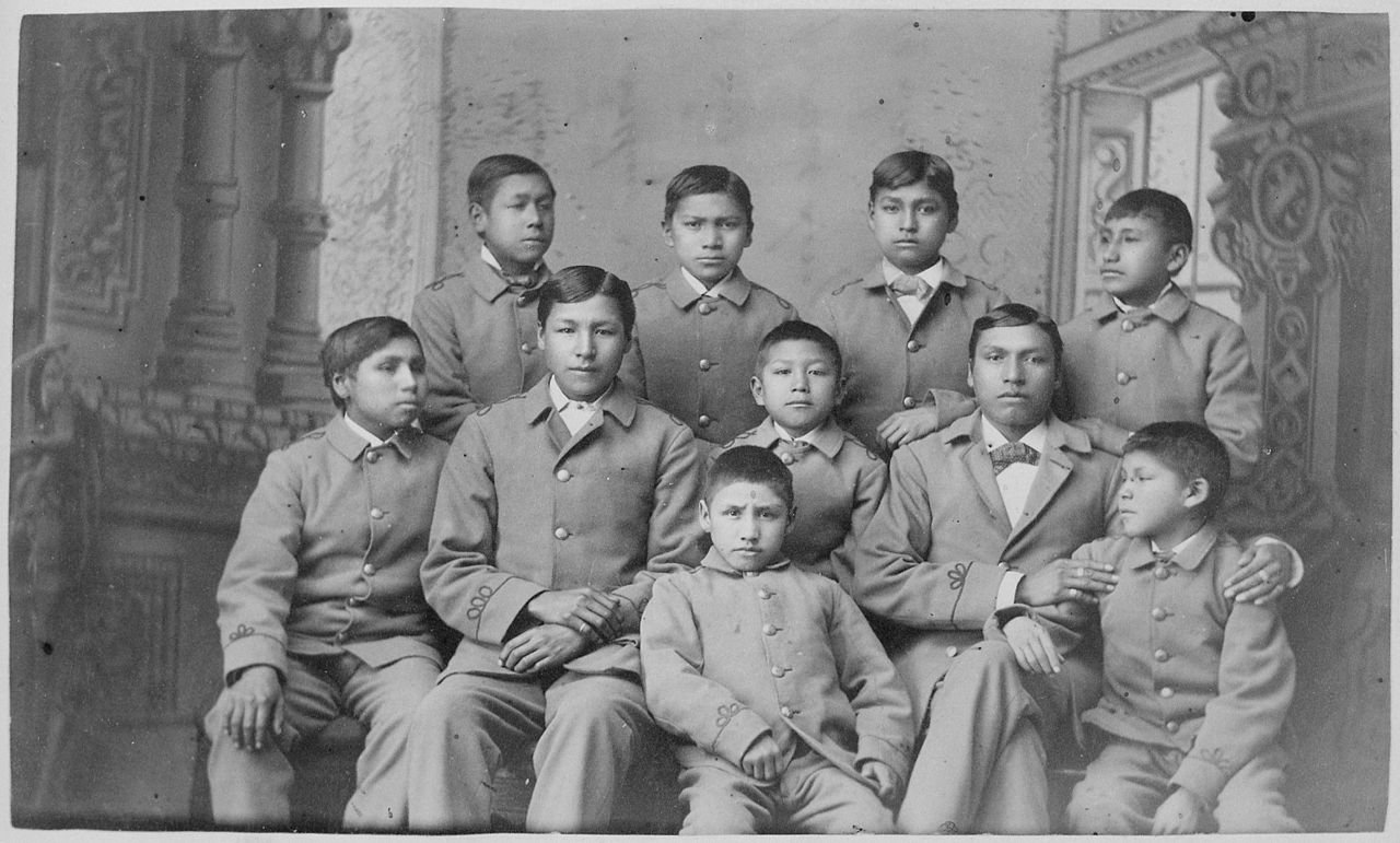 the history of the native american indian boarding school in america Hollow horn attended an american indian boarding school a black hole of native american history com/history/events/boarding-schools-a-black-hole.