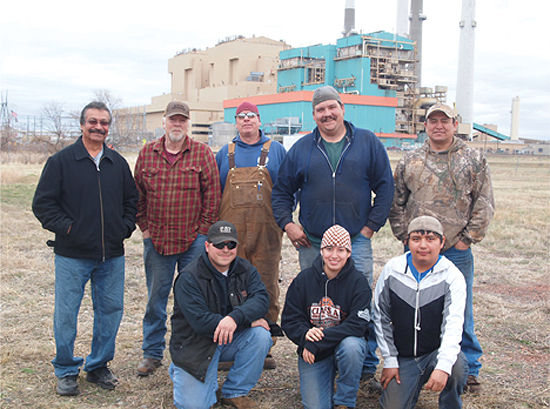 Native Sun News: Tribal members training for boilermaker jobs