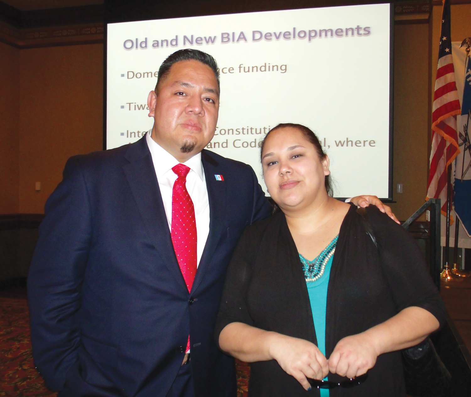 Native Sun News: Tribes meet to discuss VAWA implementation
