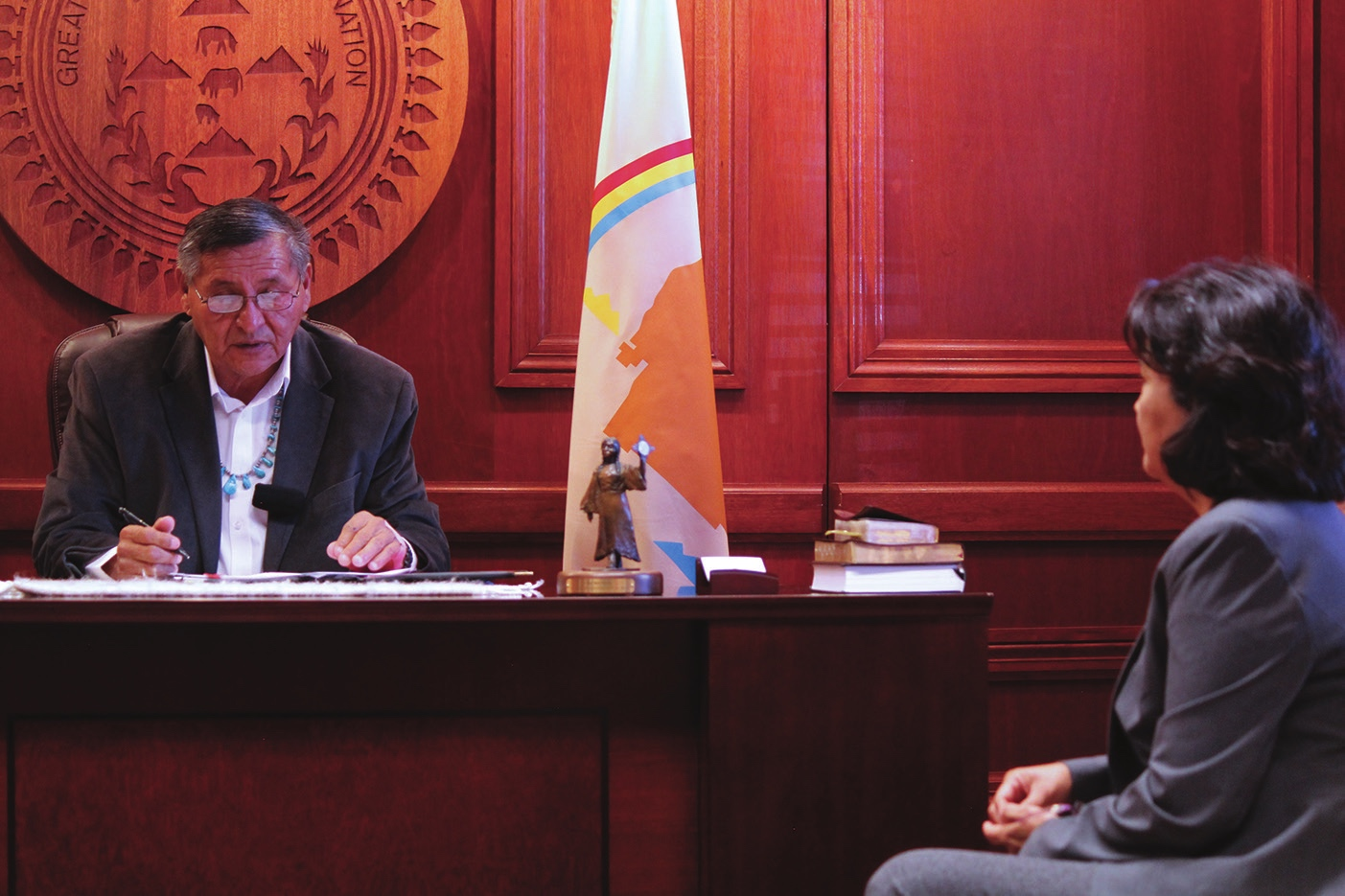 Navajo Nation signs buy-back cooperative agreement with DOI
