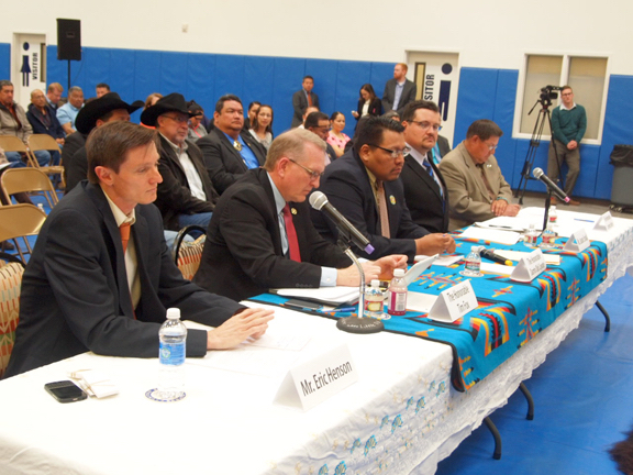 Native Sun News: Senate field hearing focuses on tribes and coal