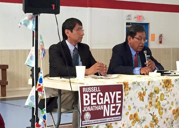Navajo Nation candidates enter final stretch of bumpy campaign