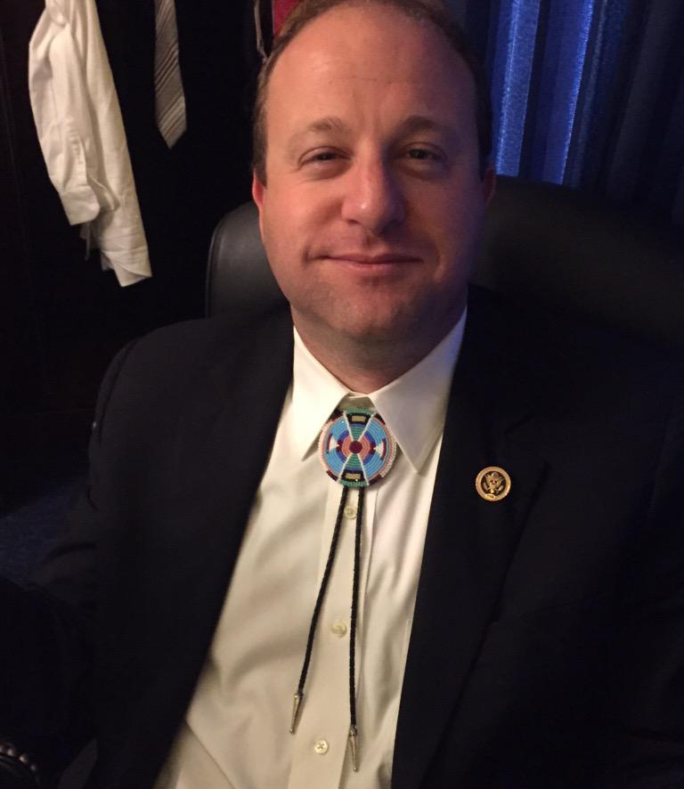 Colorado lawmaker continues tradition of bolo ties on Capitol Hill