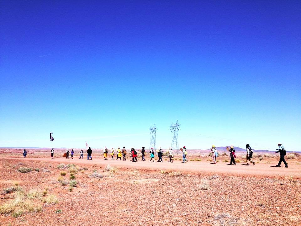 Native Sun News: Walk hits uranium mining sites on reservations