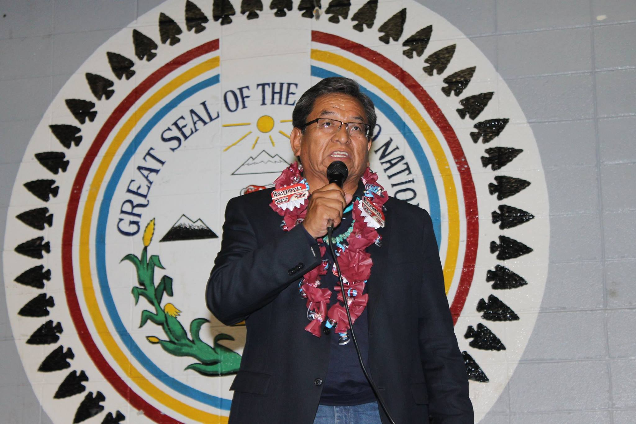 Navajo Nation voters choose Russell Begaye as next president