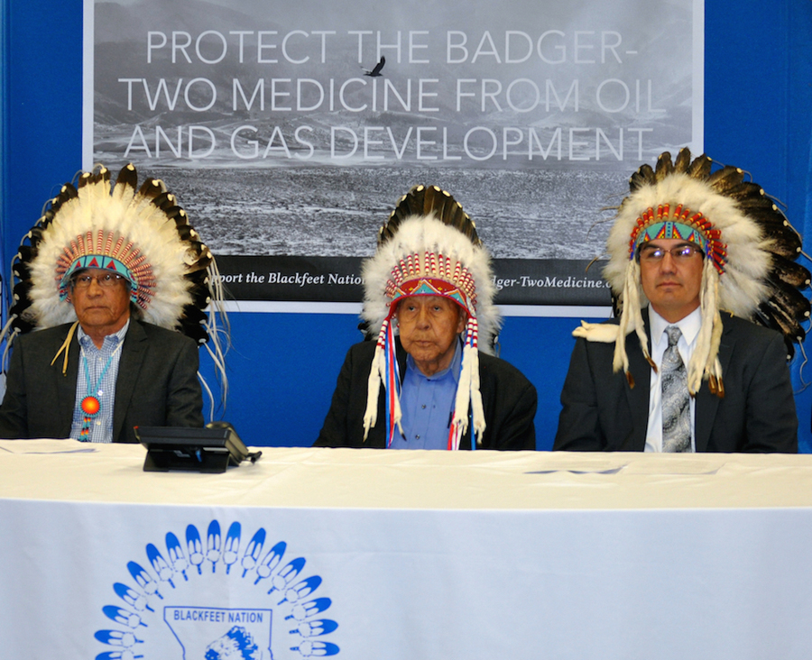 Blackfeet Nation wants all energy leases canceled at sacred site