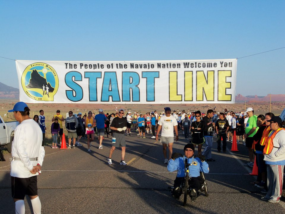 Marathon on Navajo Nation draws large number of participants