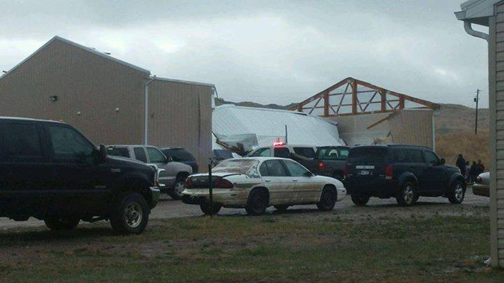 Cheyenne River Sioux Tribe reports injuries in severe storm