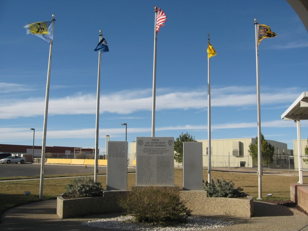 Bureau of Indian Affairs adds names to memorial for fallen officers