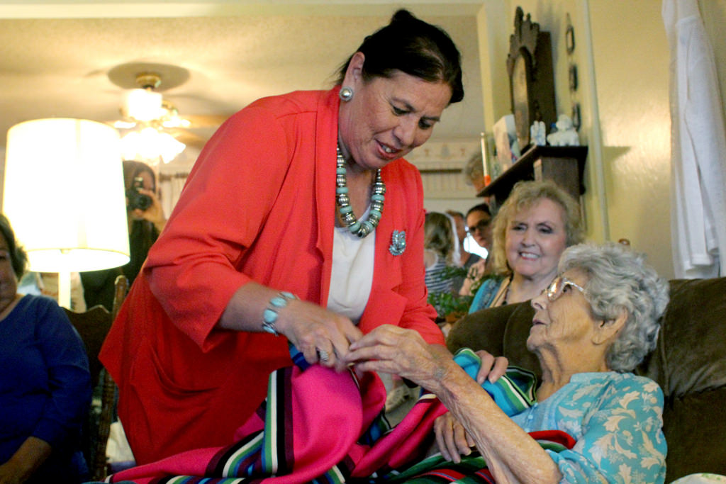 Marguerite Dennison from Osage Nation marks 100th birthday
