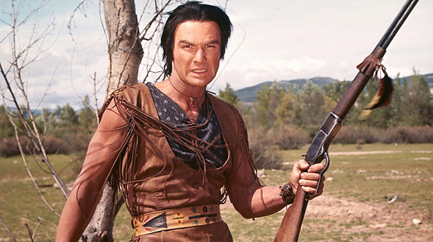 History: Burt Reynolds portrays 'Navajo Joe' in film from 1966