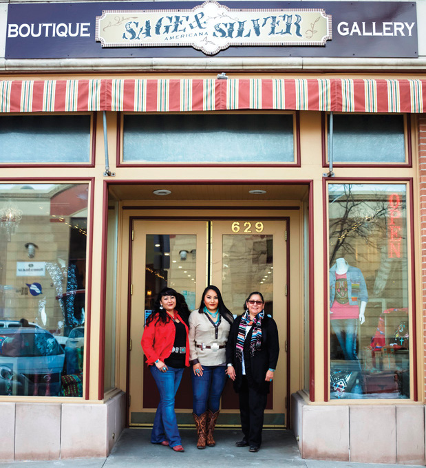 Native Sun News: Native business celebrates grand opening